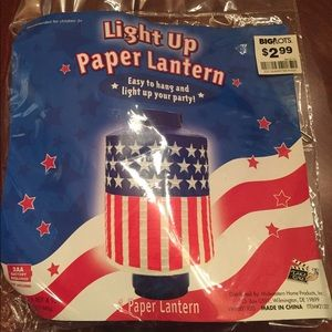 Other - 6 new Paper Lanterns—4th of July bundle